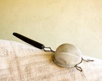 Vintage Wire Mesh Strainer
