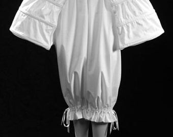 18th Century Pannier Pocket Hoop Style in White Cotton, size S-2XL Marie Antoinette Historic Underwear