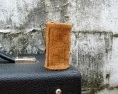 The Original Slider - Leather Guitar Slide Holder