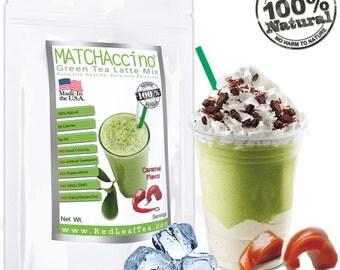 Matcha Green Tea Caramel Frappe/Latte Mix