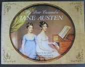 My Dear Cassandra Jane Austin's letters to her sister -  English Literature - Jane Austin Quotes - Vintage paperback