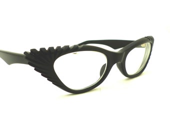 RARE style1950'S Cateye Cats eye / Eyeglasses /Sunglasses/Pin Up Hollywood / Can Op