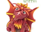 Polymer Clay GRIFFIN Gryphon Tutorial - Also for Fondant, Sugar Paste, & More