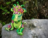 Polymer Clay Dragon 'SUMMER' - Limited Edition Collectible from the Seasons Series