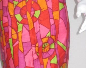 70s vtg handmade dress large