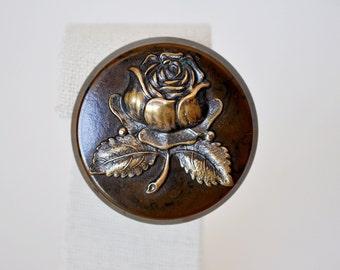 Vintage Bakelite Rose Brooch