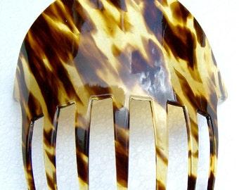 Victorian hair comb faux tortoiseshell hair accessory hair jewelry headdress  headpiece hair ornament decorative comb