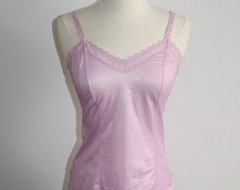 Lilac Lace Trim Camisole