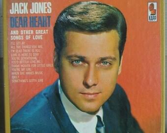 Jack Jones Dear Heart reel to reel tape