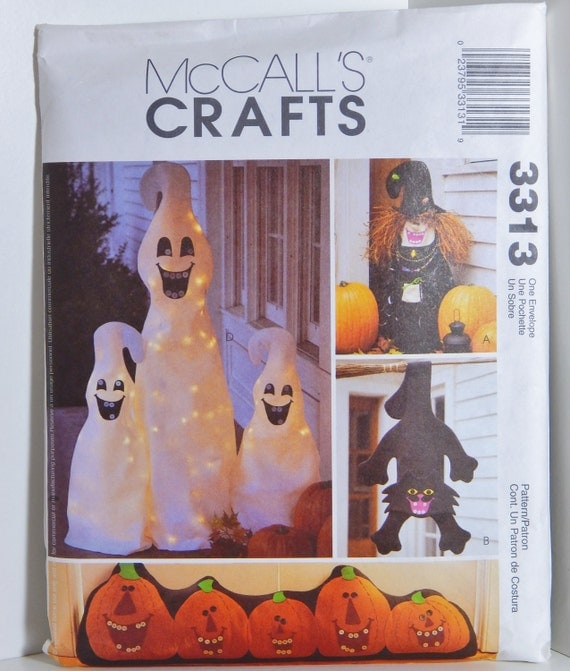 mccall 39 s crafts pattern 3313 halloween spooky cute home decoration