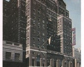 New York City Vintage Postcard William Sloane House YMCA 34th Street - NYC Souvenir