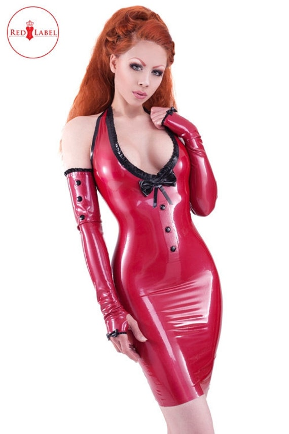 Kandy love latex rubber fetish dress from westward bound uk r1292