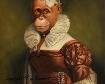 "Orangutan - ""Josephine"" - 8x10 photo print"