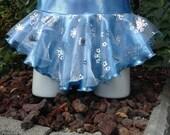 Disney inspired Elsa Frozen figure skating, dance, twirl skirt