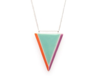 Porcelain Prism Necklace