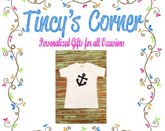 Anchors Away Appliqued Shirt