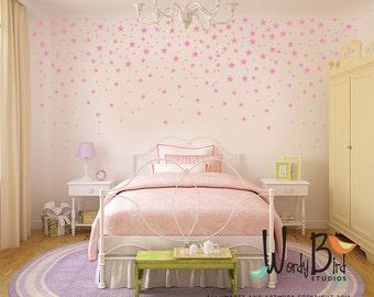 Star Confetti Wall Decals For Baby Nursery   Gold Stars   Metallic Star  Decals Part 82