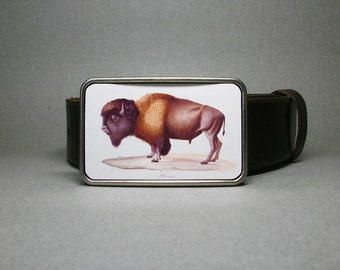 Belt Buckle Bison Buffalo Unique Gift for Men or Women