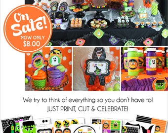 Halloween Party Printable | Halloween Decorations | Halloween Party Decor | Kids Halloween | Instant Download | Amanda's Parties To Go