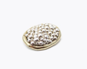 14k Gold Vermeil Brooch Pin with Sterling silver 925