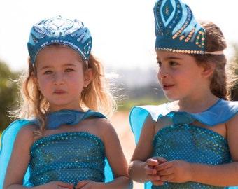 Elsa crown Handmade Toddlers Elsa crown girls Shimmering crown Everyday cape pretend play Elsa toddler Frozen  Shimmering Party crown