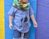 George Washington Kids Shirt - Hero of History - Boys or Girl Tee Shirt - Boys or Girls Historical Hipster President Tee Shirt
