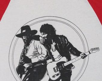 BRUCE SPRINGSTEEN 70s  tour T SHIRT jersey