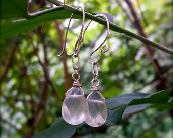 Sterling Silver and Quartz Fairyland Earrings