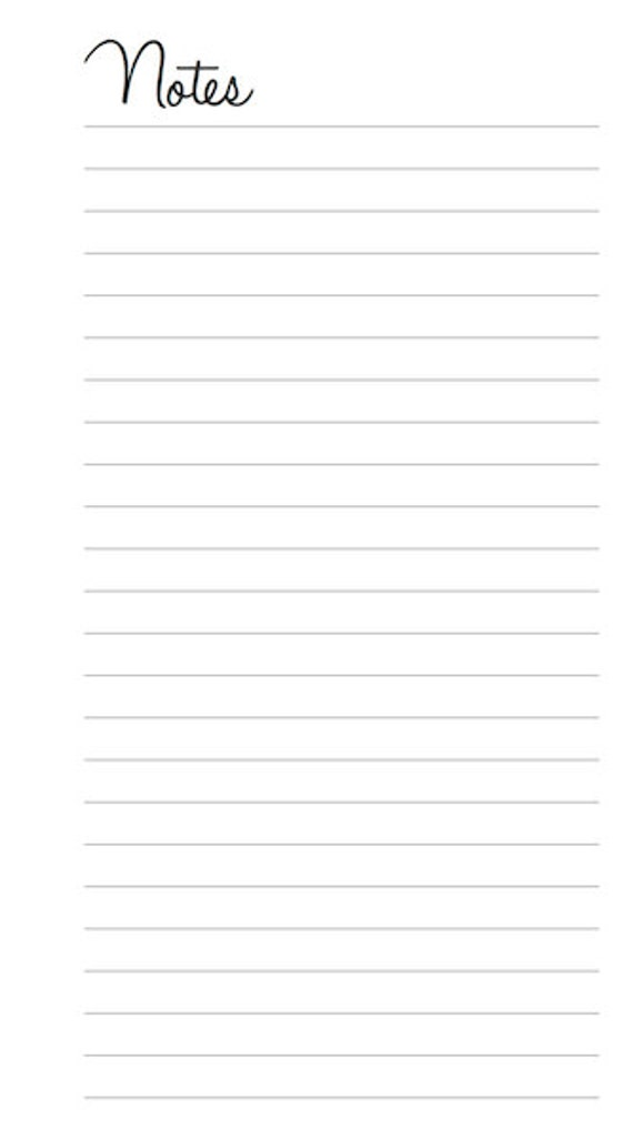 Peaceful image for printable notes