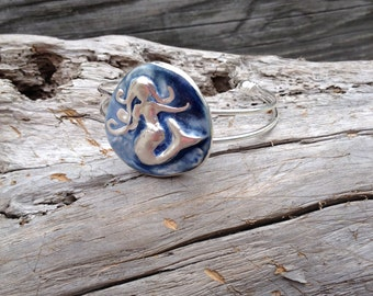 Mermaid Bracelet in Blue