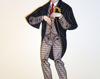Dark Shadows Barnabas Collins Articulated Paper Doll