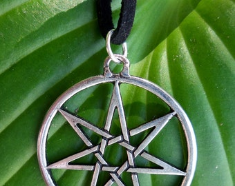 Game of Thrones Star, Boho Star Necklace, Wiccan Necklace, Hedge Witch, Fairy Star Necklace, Septagram Necklace,  Seven Pointed Star
