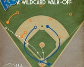 Kansas City Royals baseball print 'Royal Rally' wildcard win poster