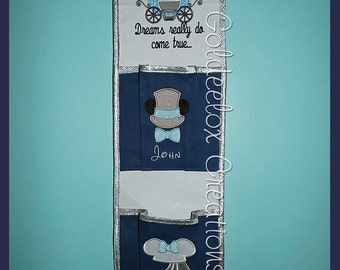 Honeymoon Fish Extenders 2 Pockets for Disney Cruises Made to Order