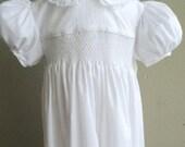 Girls Heirloom Dress , Girls Special Occasion Dress, size 7