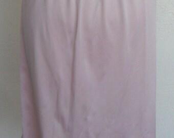 Vintage Half Slip Vanity Fair Small L Pink/Mauve Lace