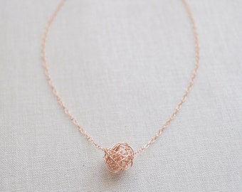 Love Knot Necklace - 1111