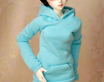 SD Clothes Aqua Hoodie For BJD