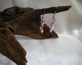 Beaded Waterfall Earrings