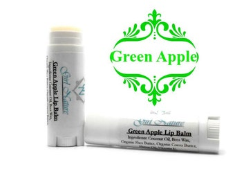 Apple Lip Balm Handcrafted with Organic Butters