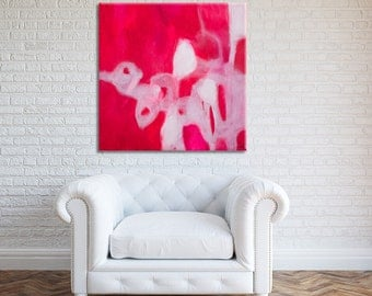 Minimalist Abstract Print on Canvas or Paper from Original Painting, Acrylic Painting, Abstract Painting, Abstract Art