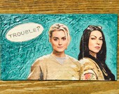 Orange is the New Black OITNB Oil Hand Painted Magnet ACEO
