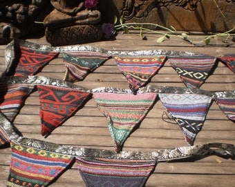 Tribal Bunting Double Sided Beautiful Decoration