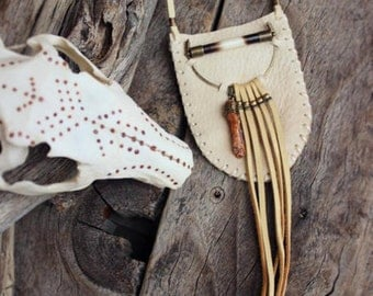 SACRED DREAM, Leather Medicine Pouch
