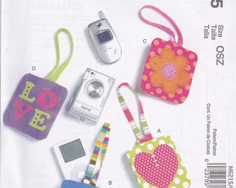 Cell Phone Case Pattern McCalls 6215 Uncut