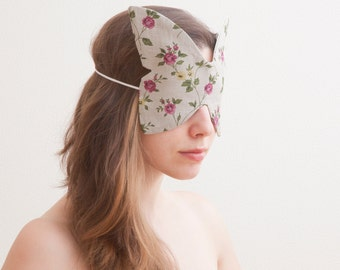 Butterfly Mask, travel sleep mask, unique gift