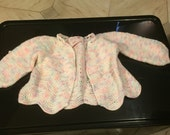 Hand Knitted Infant Sweater