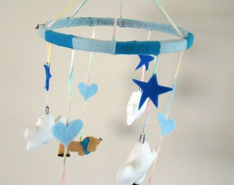 Boys Puppy Mobile - Hand Made
