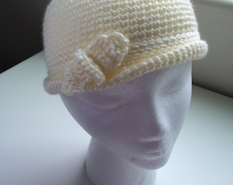 Child's Hat in Cream