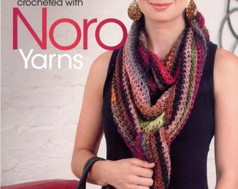 50%off Fashions to flaunt crocheted with Noro yarns Pattern book